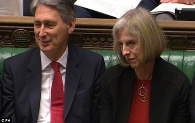Image result for Theresa may and hammond
