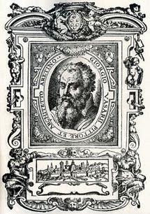 Retrato de Vasari.