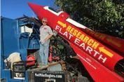 Rencana Pria AS Terbangkan Roket untuk Buktikan Bumi Datar Tertunda