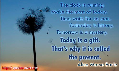 Quotes About Time Clock 127 Quotes