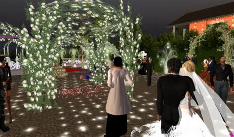 Virtual Wedding Game: Second Life Marriage 3d HD Video