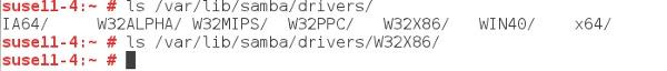 Samba Print Server Directory Structure