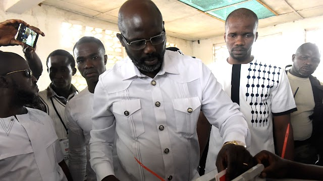 Football legend, George Weah, Set To become Liberia's  president
