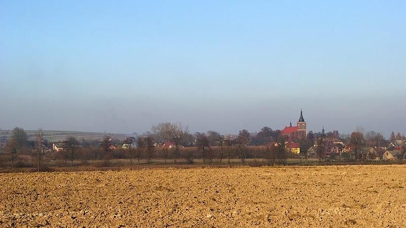 Archivo: pueblo Niegowic (vista desde S), Pequeña Polonia (Malopolska) Voivodato, United_States.jpg