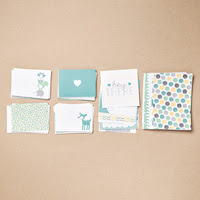Hello Baby Boy Project Life Card Collection  by Stampin' Up!