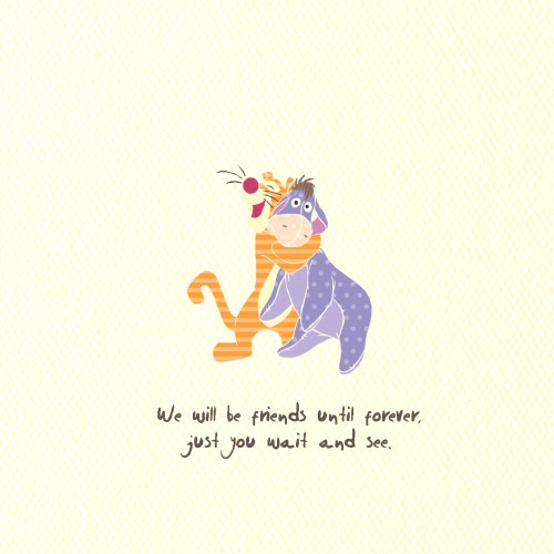 Illustration Forever Classic Tigger Friendship Artwork Eeyore