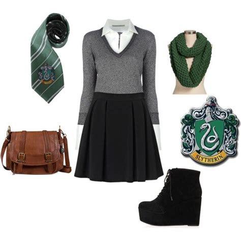 slytherin school outfit slytherin slytherin harry