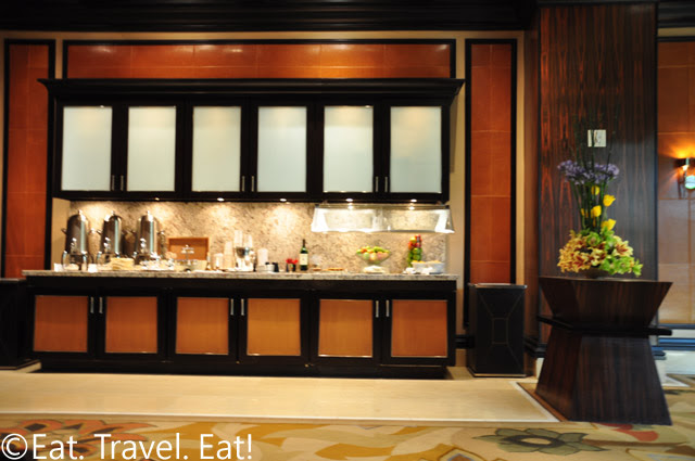 Food Counter Frontal View VIP Lounge