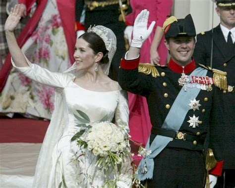 Danish Royal Wedding 2004: Mary & Frederick after their
