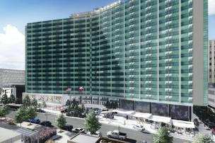 The Statler Hilton, which has been vacant a decade, will be redeveloped by the group into luxury residential tower with a retail component.