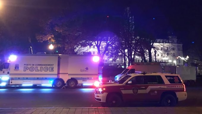Quebec City police searching for suspect after stabbings leave at least 2 dead