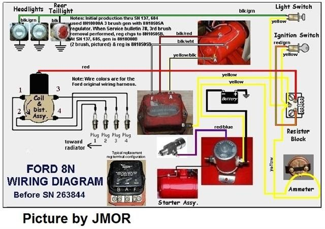 8n Ford Tractor Wiring Diagram 6 Volt Collection