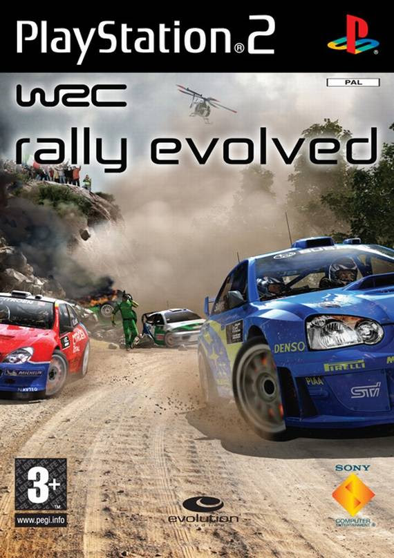 WRC - Rally Evolved PS2 ISO
