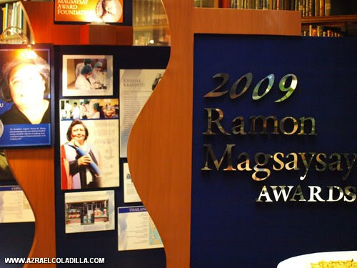 2009 Ramon Magsaysay Awards Asia's Heroes Science service og Humanity