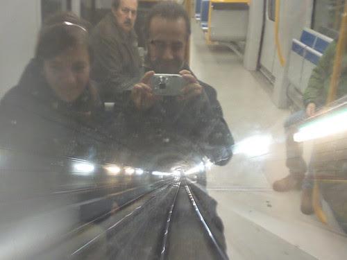 In prima fila sulla Metro5 by Ylbert Durishti