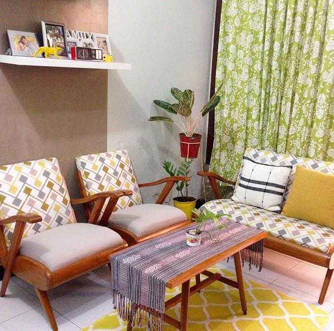 Desain Ruang Tamu Dengan Bunga   Ide Rumah Minimalis