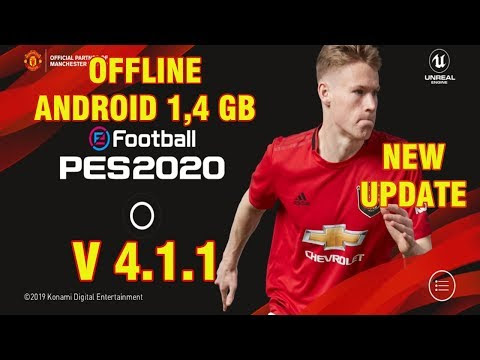 eFootball PES 2020 Mobile V4.1.1 Android Offline New Patch Transfers Update + New Kits Best Graphics