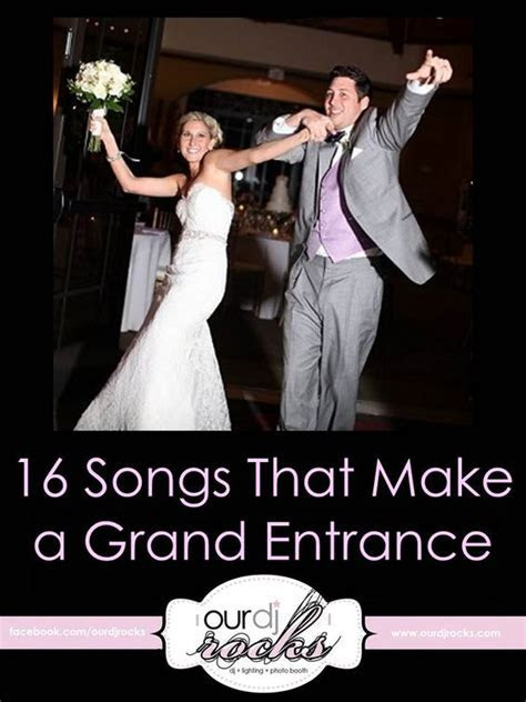 Wedding Songs & Grand Entrance Songs   Cute wedding ideas
