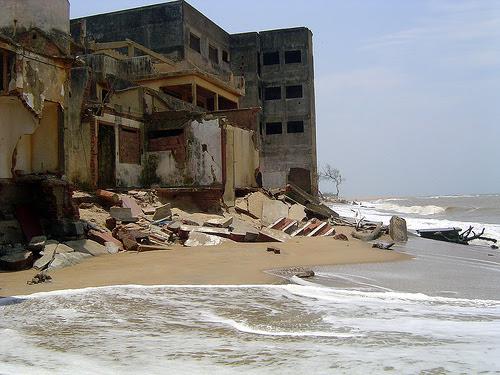 Erosão marítma