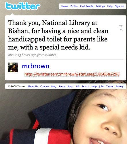 Twitter / mrbrown: Thank you, National Librar ...