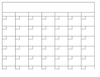 1000+ ideas about Blank Calendar on Pinterest   Blank calendar ...