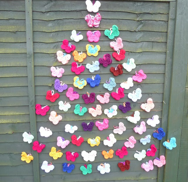 Happy Christmas to you all! Thanks to Sherine for these amazing Butterflies!