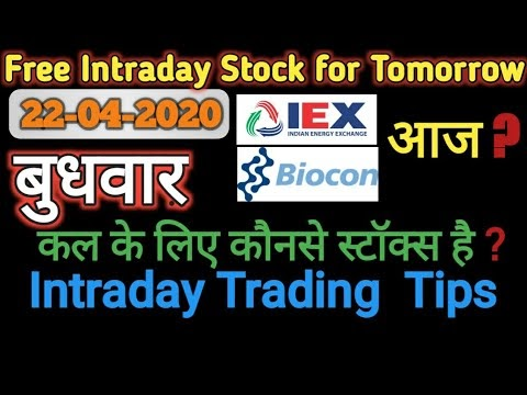 Intraday call For 22 April 2020| Intraday Stock For Tomorrow in Marathi ...