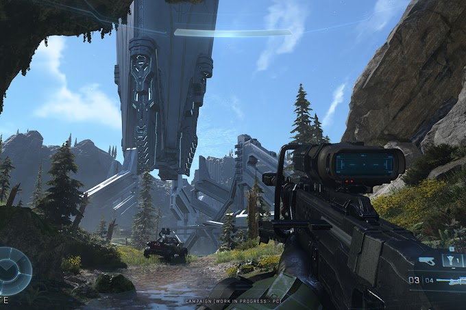 Halo Infinite is looking a lot better in these 4K screenshots