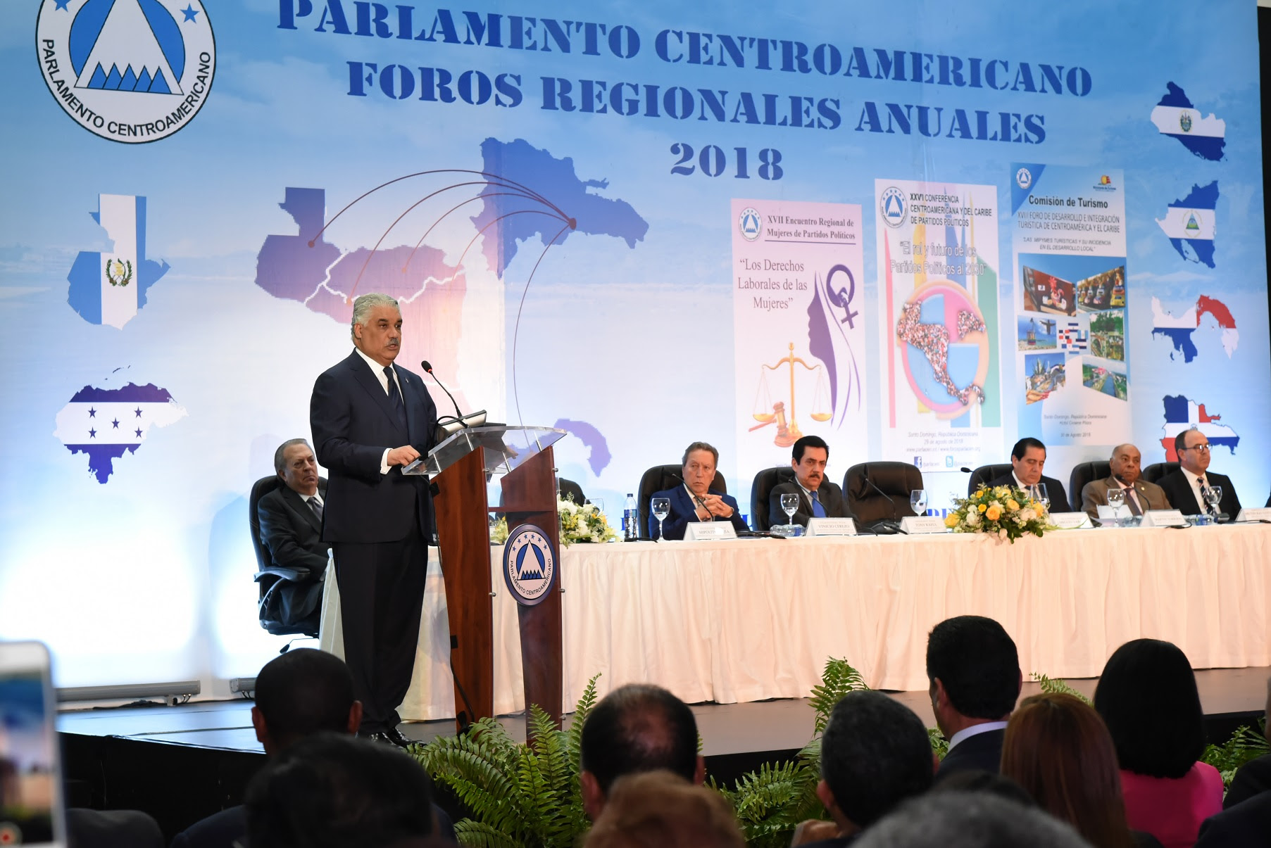 Canciller RD resalta importancia del Parlacen como foro regional