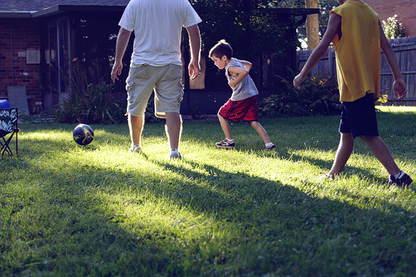 backyard ball.