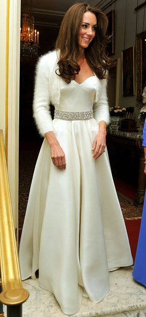 kate middleton's gorgeous second dress... :D