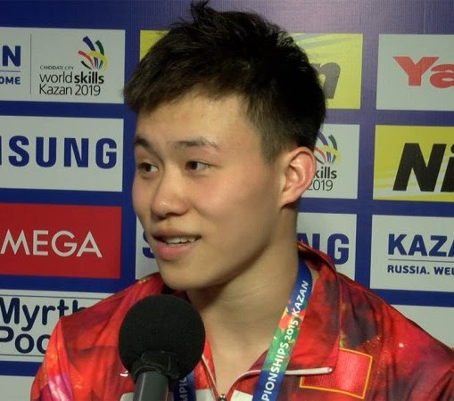 Xie became the fifth chinese athlete to win it. TUFFI Campionati Mondiali a Budapest: Xie Siyi vince nella ...