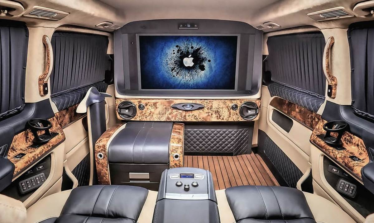 Ever seen a luxury yacht on wheels? Check this Mercedes ...