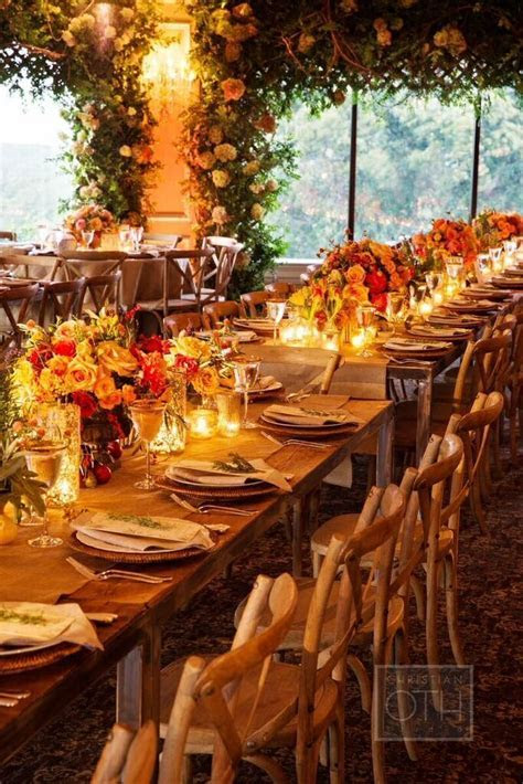 Elegant Autumn Themed New York Wedding at Oheka Castle