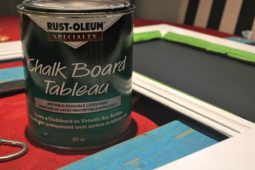 Chalkboard Paint Project 2