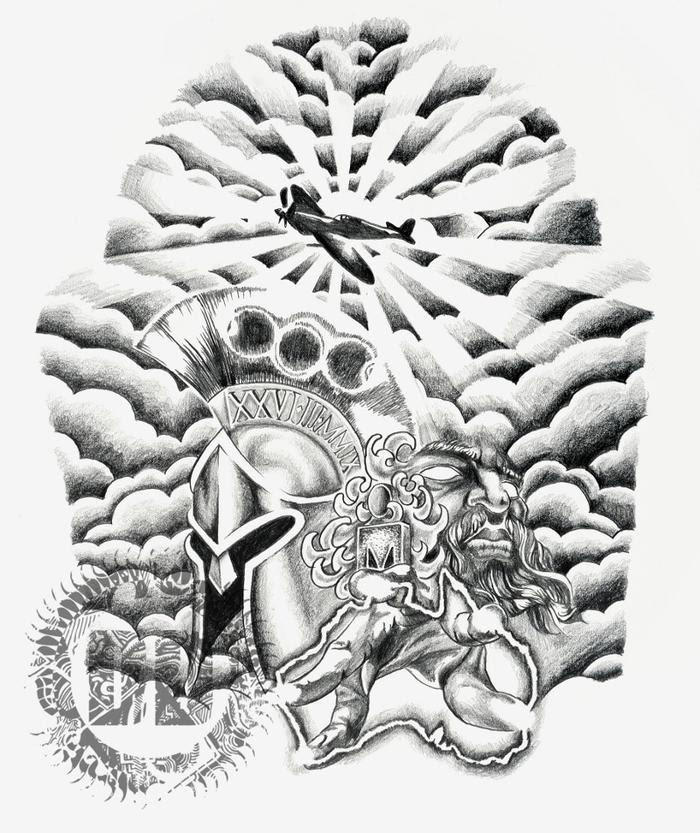 Sleeve Tattoo Ideas Clouds