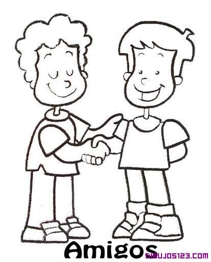 Apreton De Manos Entre Amigos