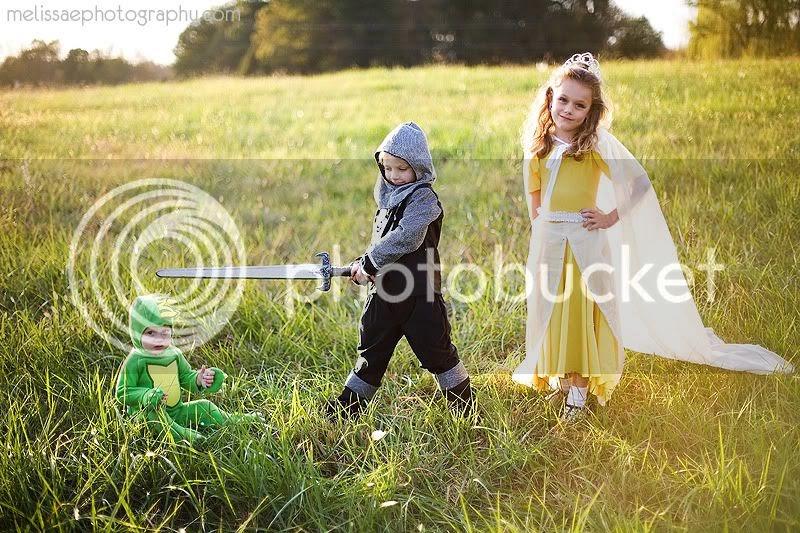 Melissa E Photography: A knight, a princess and a dragon