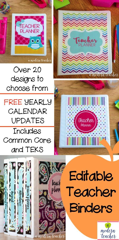 1000+ ideas about Teacher Planner Free on Pinterest   Teacher ...