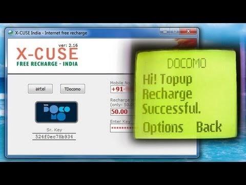 DSTAR INFOTECH: Docomo & Airtel Free Recharge - Ultimate Windows