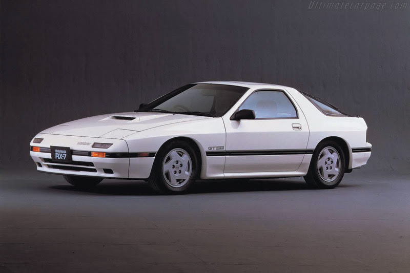 1986 - 1991 Mazda RX-7 GXL - Images, Specifications and Information
