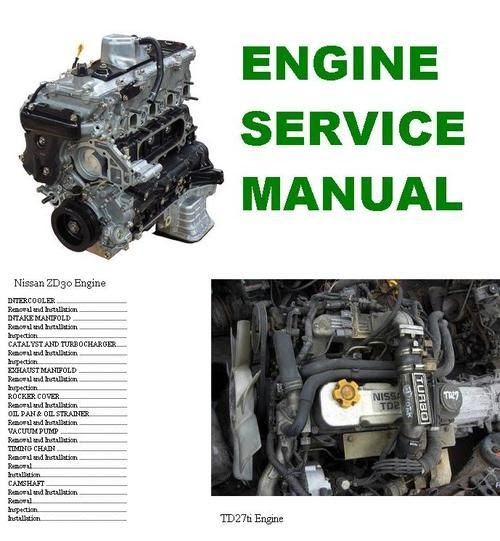 Bestseller  Repair Manual Nissan Td27 Engine Manual Pdf