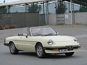 Alfa Romeo Convertible 1960