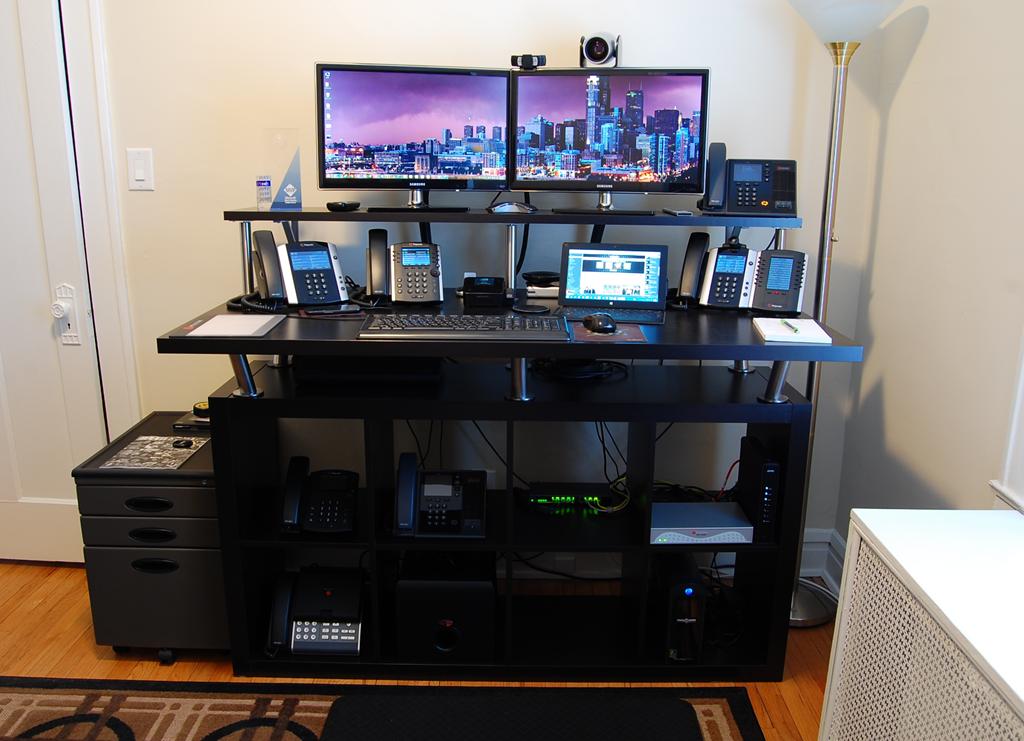 Home Office Standing Desk : Jeff Schertz\u002639;s Blog
