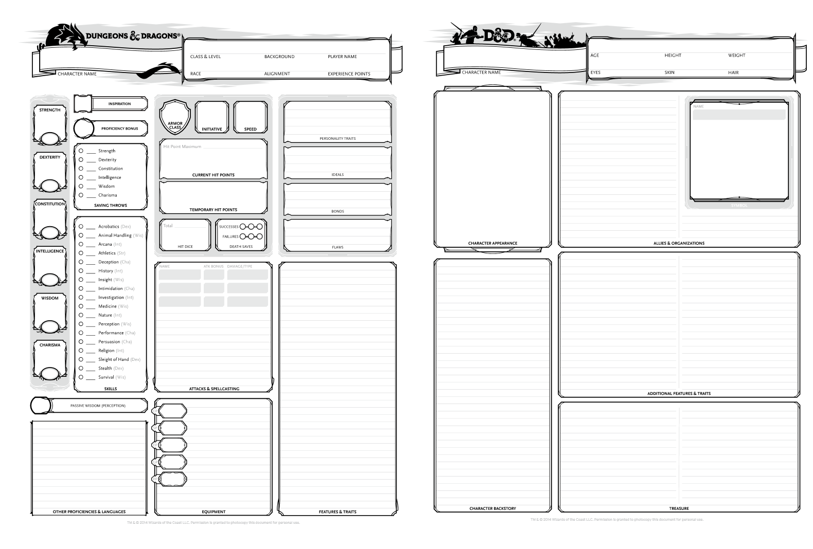 D&D 5th Edition Who-wants-to-try-this Thingie