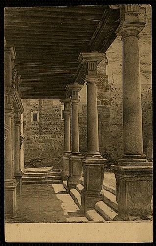 Convento de Santo Domingo el Real (Toledo) a principios del siglo XX. Foto Wunderlich hacia 1930