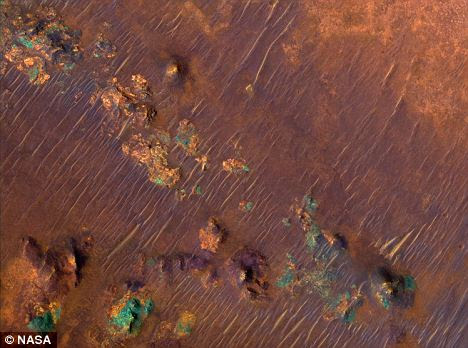 The ancient rocks of Nili Fossae which scientists have discovered have many similarities to rocks in Australia in terms of minerals