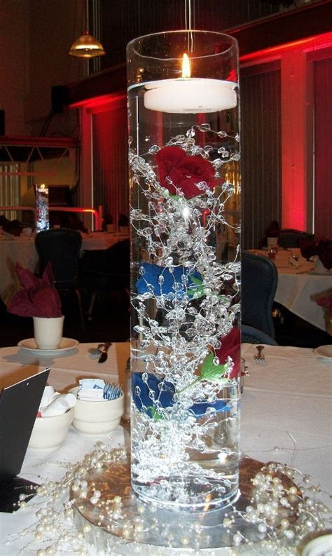 Centerpieces for Military Wedding with your cranberry