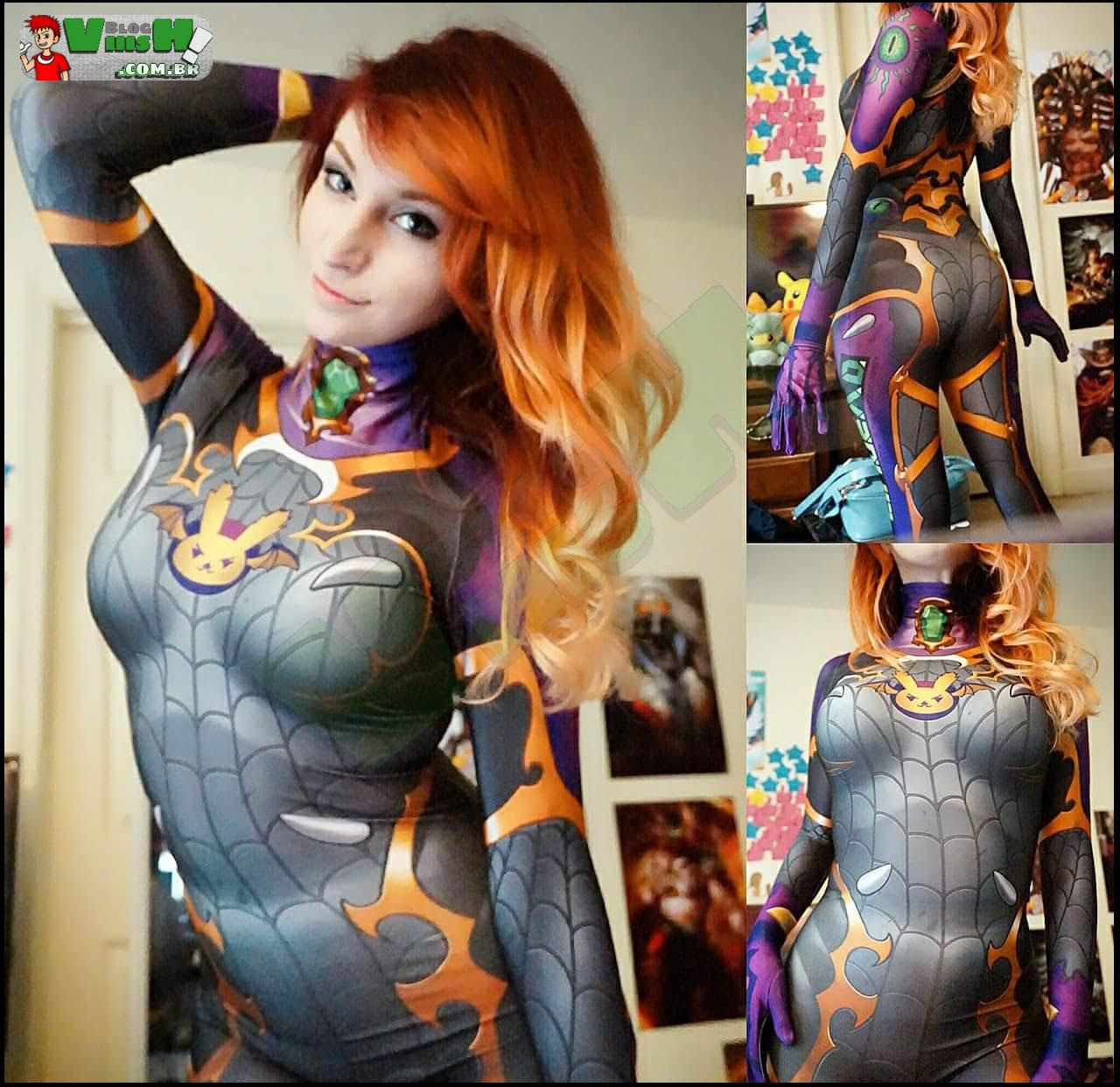 Blog Viiish - Nem sei se é um cosplay, mas é linda!