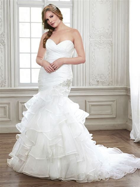 183 best images about Ruched and draped wedding dresses on